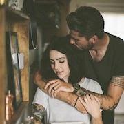 Мужчина водолей и женщина рак