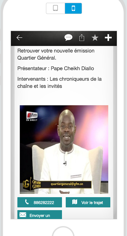 GFM & VOUS- screenshot