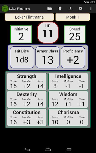 Fifth Edition Character Sheet  screenshots 9