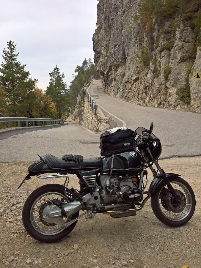 Die Zentralfederbein R 100 R BMW in Tirol