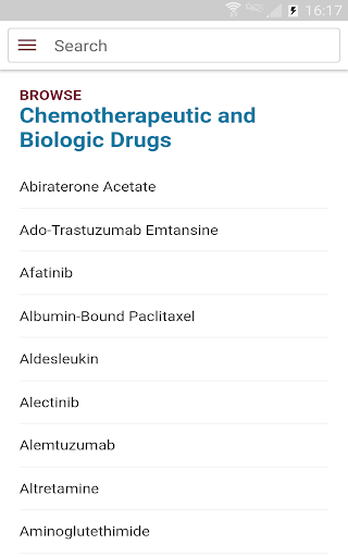 Physicians' Cancer Chemotherapy Drug Manual screenshot 6