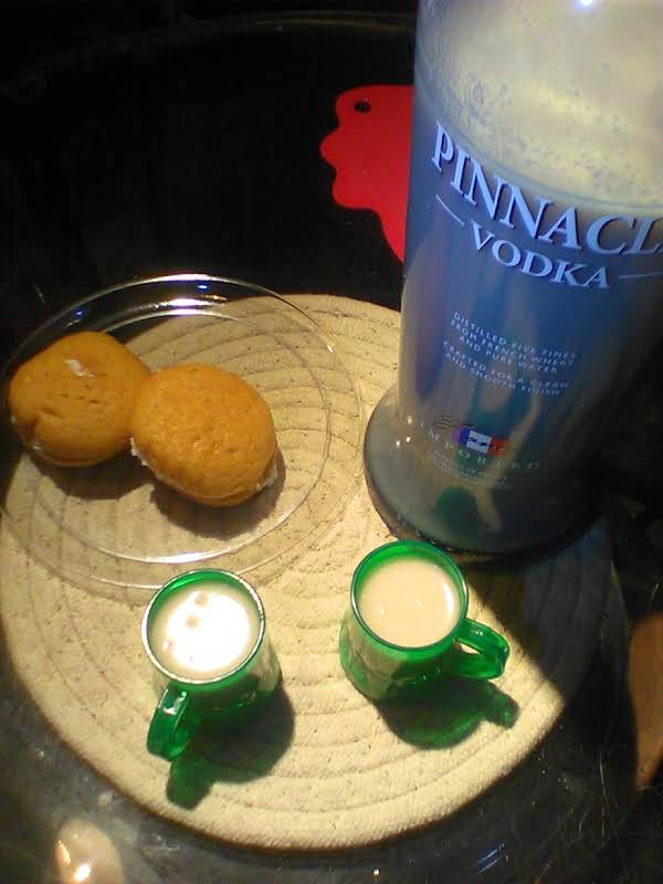 Turning Over A New Leaf  Werther Candy&vodka&cream Recipe