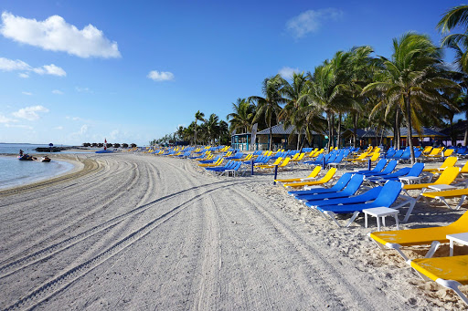 coco-cay-beach.jpg - The beach at CocoCay in the Bahamas.