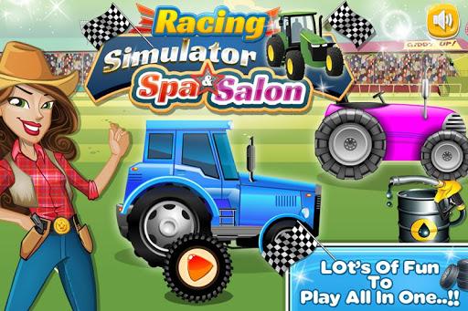 Racing Tractor Simulator Spa