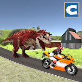 Bike Racing in Dino World