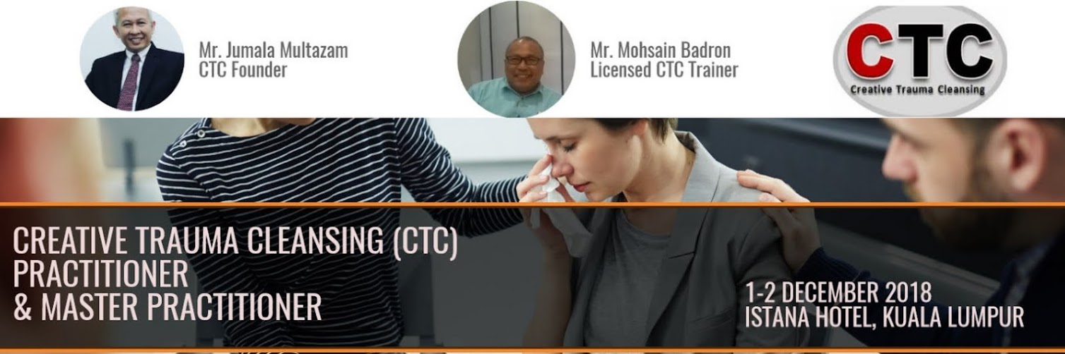 Creative Trauma Cleansing (CTC) Practitioner and Master Practitioner Workshop