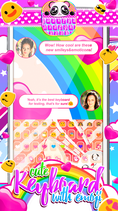 Cute Keyboard with Emoji - Android Apps on Google Play
