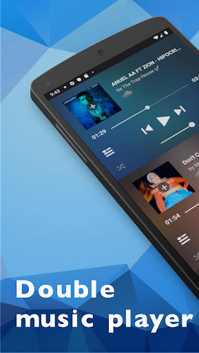 SplitCloud Double Music - Play two songs at once Apk 1