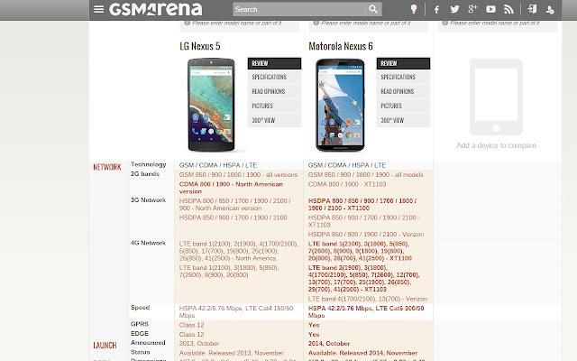 Lite Website Improver - GSMArena.com