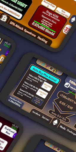 CryptoClickers: Crypto Idle Game android2mod screenshots 1