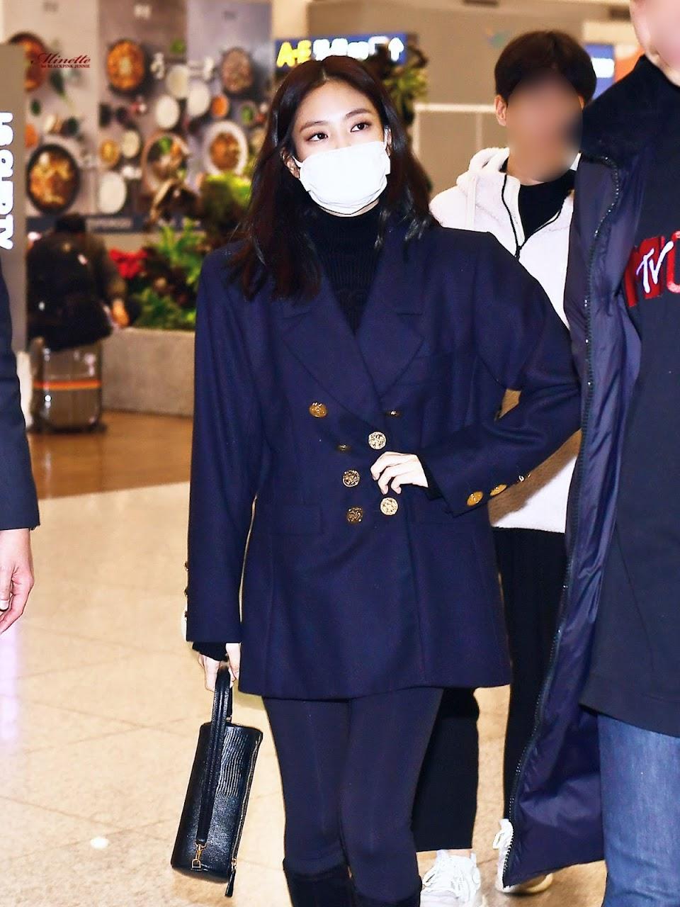 blackpink jennie airport fashion 2019 8
