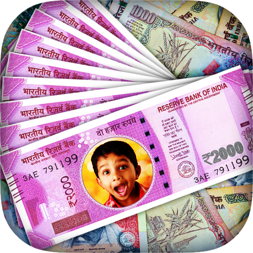 Money Photo Frame - Modi Money Icon