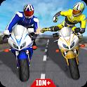 Bike Attack Race : Highway Tricky Stunt Rider icon