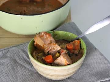 Island style chicken stew