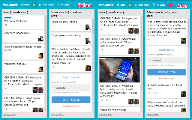 JustMyTrello - View Your Cards