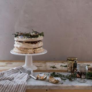 Meringue, Chocolate, and Sugared Chestnut Cake.