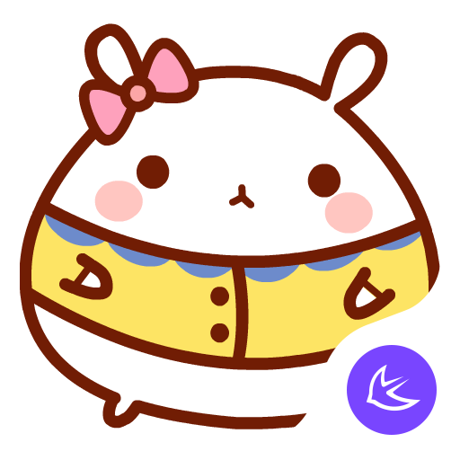 Rabbit|APUS Launcher theme 個人化 App LOGO-硬是要APP