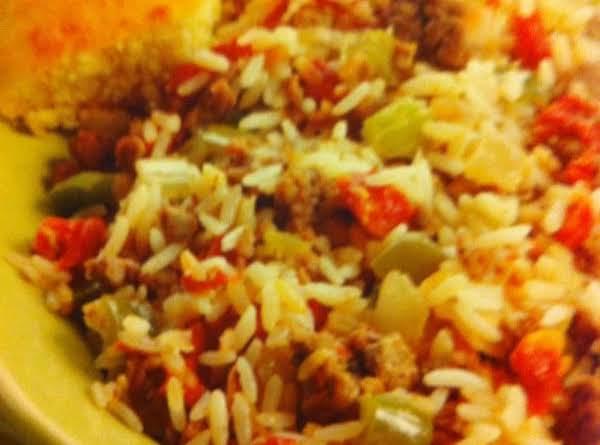Slow-cooker Cajun Dirty Rice