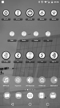 Socket Control Widget