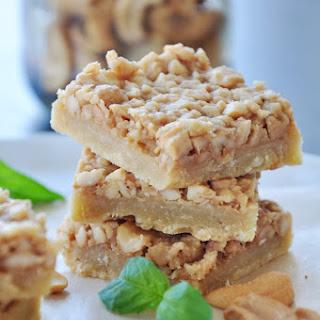 Honey Cashew Squares