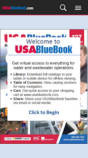 USABlueBook Catalogs- screenshot thumbnail