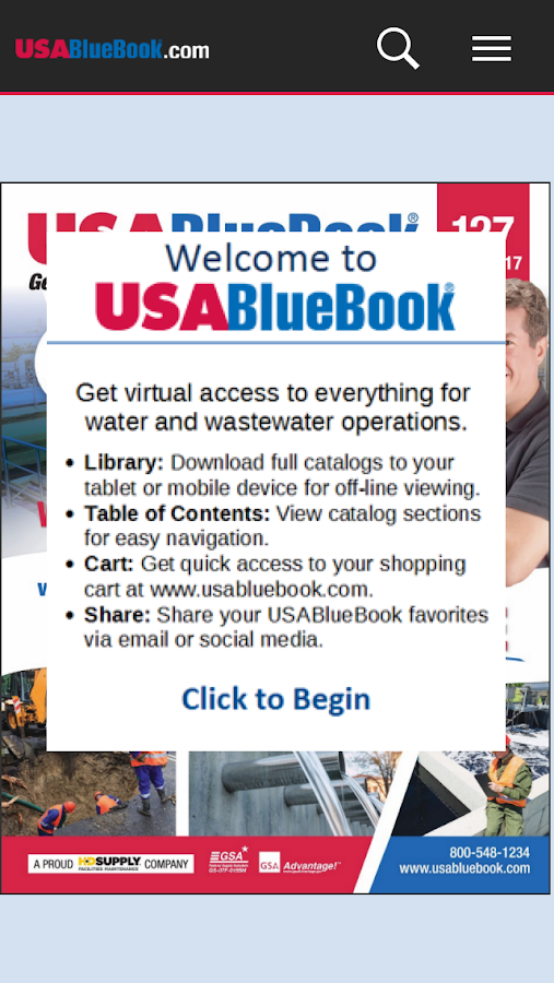 USABlueBook Catalogs- screenshot