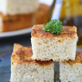 Pesto Focaccia Bread.