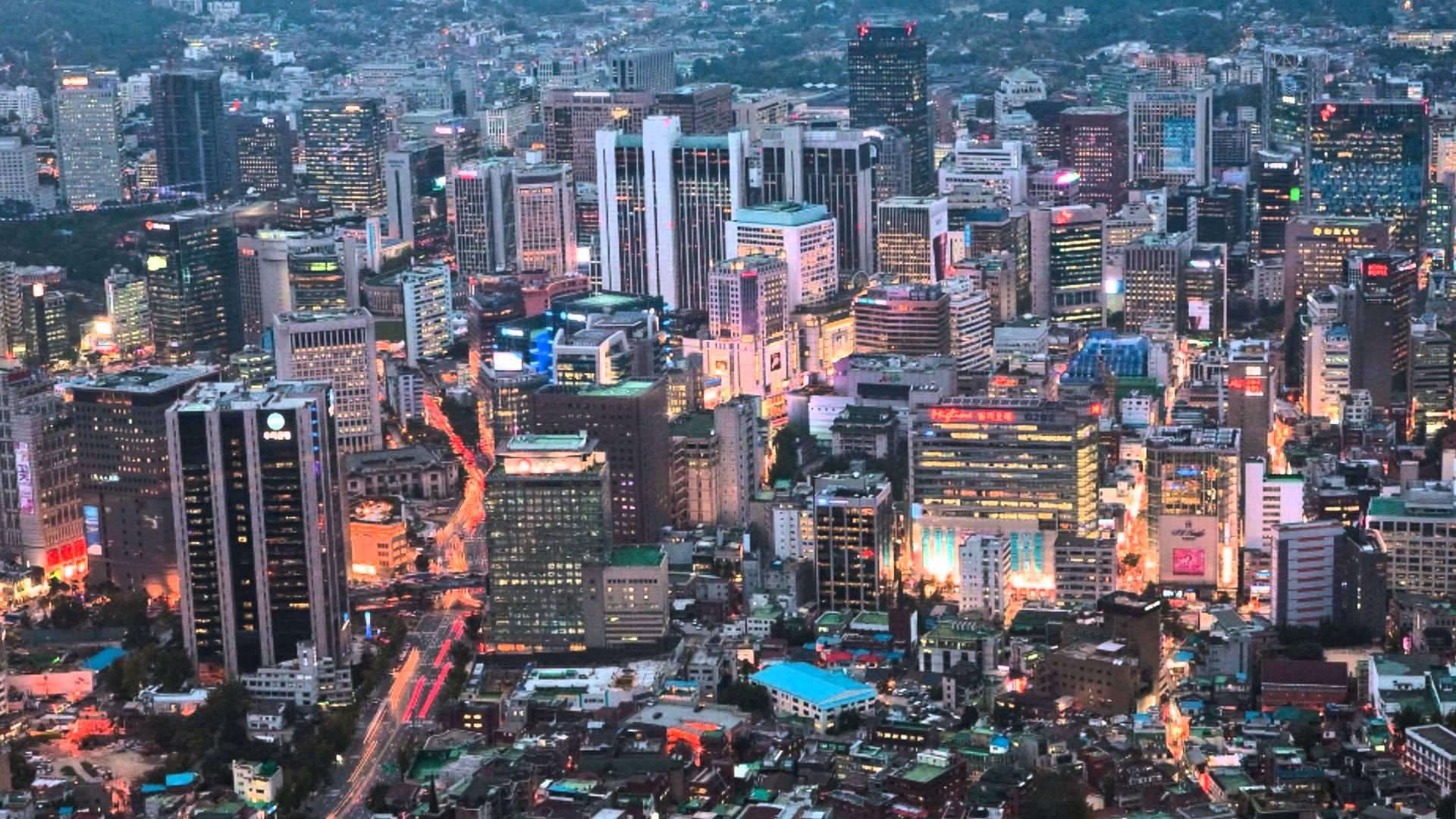 Gemerlap Kota Seoul