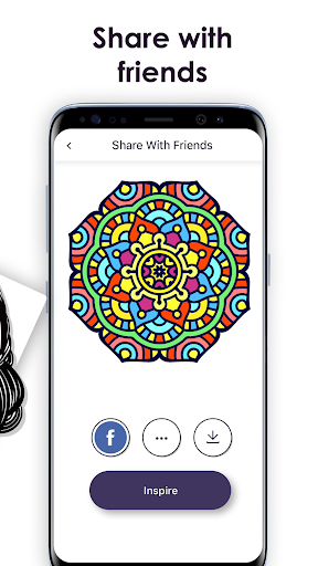 MyColorful – Coloring Book for Adults - screenshot