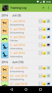 DogScroll - Dog Training Diary - náhled