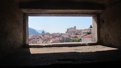Photo: Dubrovnik vanop de verdedigingswal