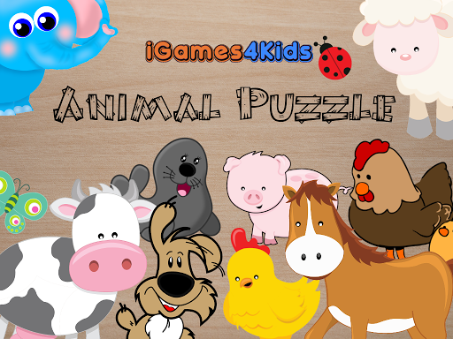 Animals Puzzles for Kids G4