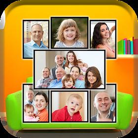 Семейные фоторамки: фотоколлаж