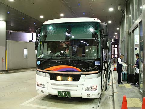 九州産交バス「サンライズ号」 ・707 三宮バスターミナル