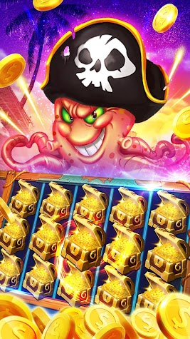 Pirate Slots - FreeSlots Game Screenshot
