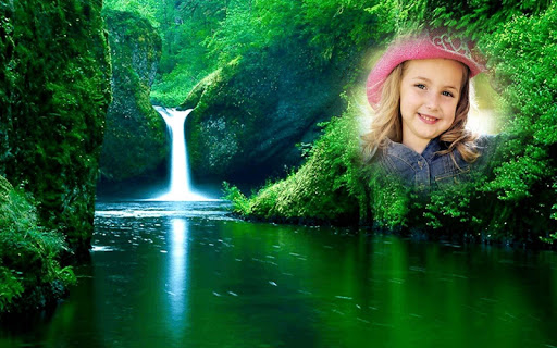 Waterfall Photo Frames Editor