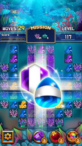 Jewel Abyss: capturas de pantalla de Match3 10