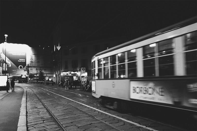 sera nera a Milano. di veronica df