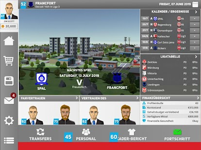 Club Soccer Director 2020 - Fußball-Management Screenshot