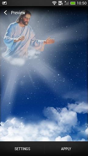God Live Wallpaper screenshot 1