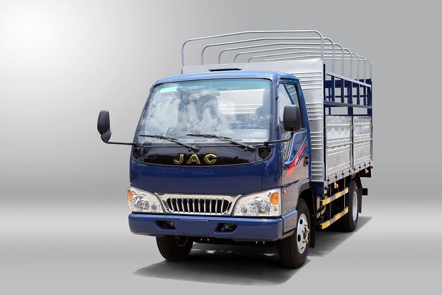 xe tải jac màu xanh