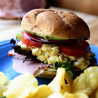Leftover Easter Sandwich