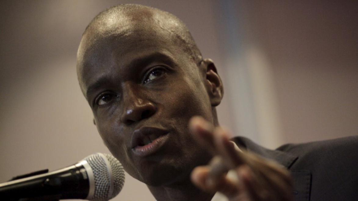 PRESIDENT JOVENEL MOISE SPEAKS TO OXFAM OUTRAGE