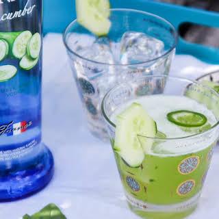 Cucumber Basil Refresher.