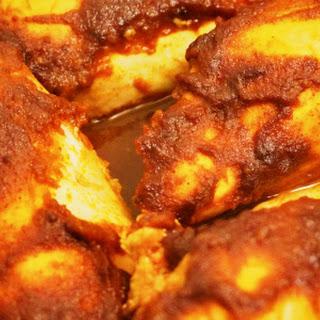 Dutch Oven BBQ Chicken.