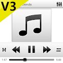 SKIN PLAYERPRO V3 WHITE BLACK icon