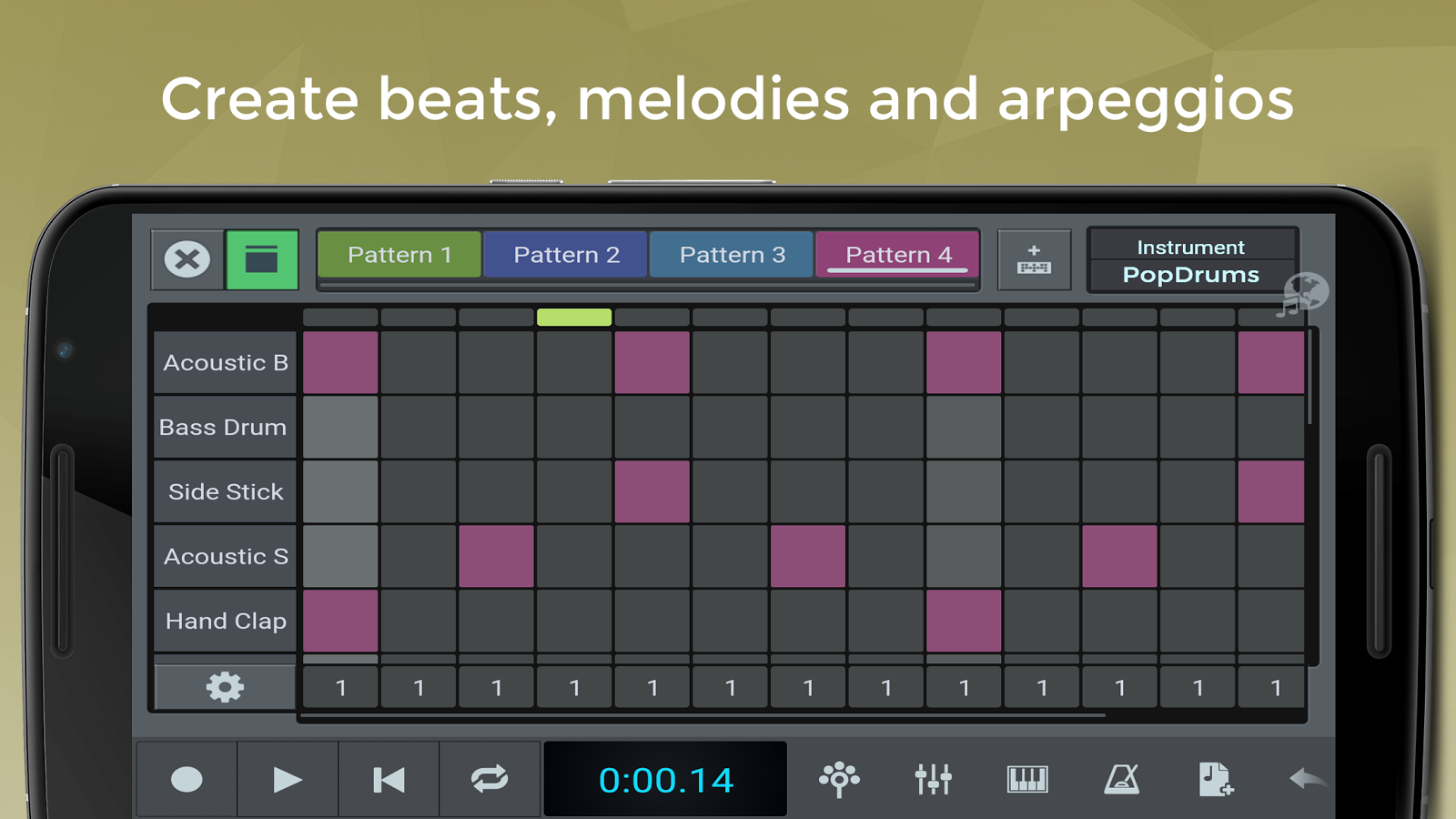 n-Track Studio 8 Music DAW- screenshot