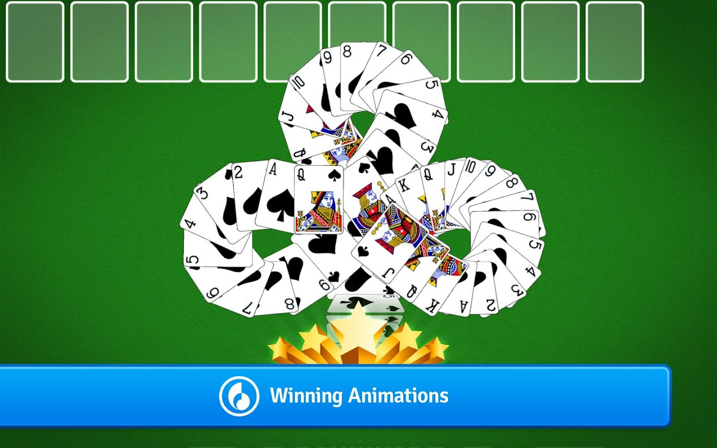 Spider Solitaire- screenshot