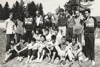 Photo: YU ARDF ekipa na Igmanu 1986. god.