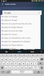Muslim Scholars & Companions- screenshot thumbnail